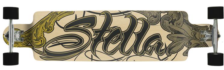 Stella Ornate drop down Longboard